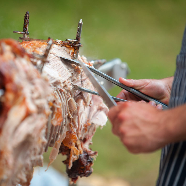 Blue Crest Catering Hire - Hog Roasts and BBQs
