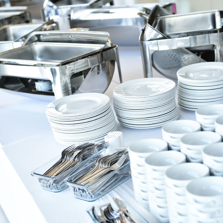 Crockery & Cutlery Hire in Nottinghamshire